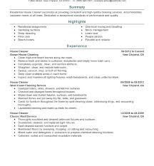 Cleaning Supervisor Sample Resume Ruseeds Co