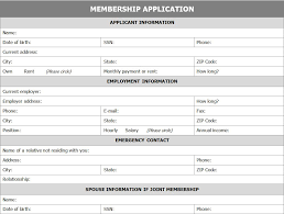 organization membership form template membership application form application for membership form