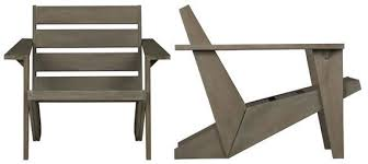 modern adirondack chair plans. Interesting Adirondack CB2 Sawyer Adirondack Chair On Modern Plans A