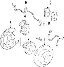 parts com® lexus gs450h brake components oem parts 2007 lexus gs450h base v6 3 5 liter electric gas brake components