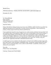 Retail Associate Cover Letter Cover Letter For Retail Sales Associate Cover Letter Template For