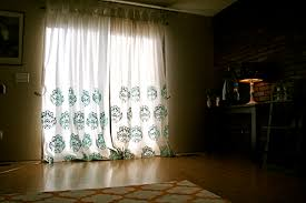 Diy Drop Cloth Curtains Drop Cloth Curtains Dyed