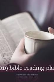 2019 Bible Reading Plan