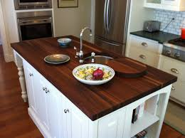 Kitchens Furniture Charming And Classy Wooden Kitchen Countertops