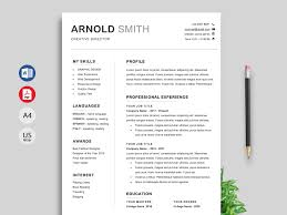 How To Make A Modern Resume In Word Template Free Creative Resume Templates Word Modern Resume