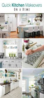 here are some easy and inexpensive kitchen makeover ideas that won t take six months without doing a remodel that could cost you thousands