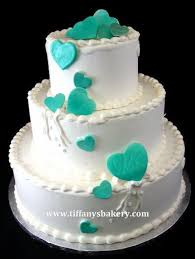 Hearts Desire Classic Wedding Cake Tiffanys Bakery