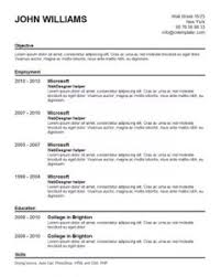 Download Help Making A Resume