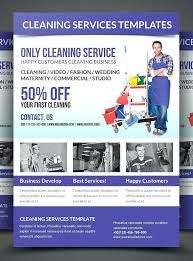 Cleaning Advertising Ideas It Services Brochure Template Dry Cleaning Templates Flyers Download