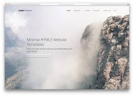 20 Best Minimal Html5 Css3 Website Templates 2018 Colorlib