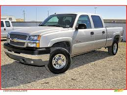 2003 Chevrolet Silverado 2500HD LT Crew Cab 4x4 in Light Pewter ...
