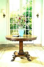foyer round table foyer round table ideas entry info diy foyer table ideas