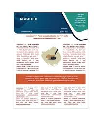 Free Newsletter Layouts 50 Free Newsletter Templates For Work School And Classroom