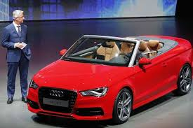 new car launches audiNew Audi A3 Cabriolet open topfour seater launched  The