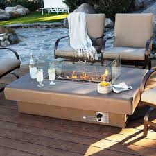 image of how to build a gas fire pit with glass