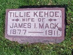 """Matilda """"Tillie"""" Kehoe Mack (1877-1911) - Find A Grave Memorial"""