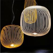 Foscarini Spokes Pendant <b>Lights Nordic Industrial</b> Bird Cage Lustre ...