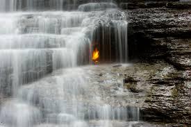 York Region Waterfall Chart Eternal Flame Falls Wikipedia