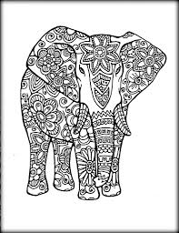 Small Picture elephant mandala coloring pages Archives coloring page