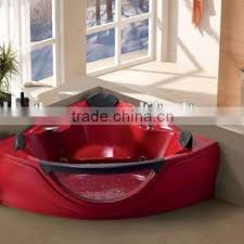 hot tub massage spa touch screen panel and cd function massage bathtub