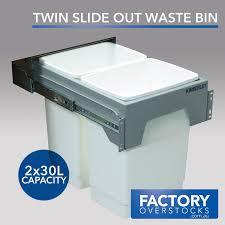 Kitchen Waste Bin Door Mounted Krb60e Kimberley Concealed Waste Bin
