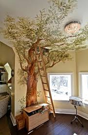 Kids Wallpaper For Bedroom Minimalist Kids Bedroom Design With Wonderful Tree Wallpaper