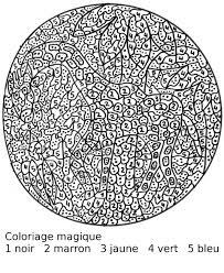 Coloriages Magique Adulte Adultes Page 2