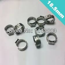 Us 14 0 Clamp Oetiker Ear Stepless Hose 18 5 Mm Bag Of 100 In Clamps From Home Improvement On Aliexpress