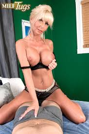 MILF Tugs Stormy Lynne Stormy Weather For Your Cock 353879.