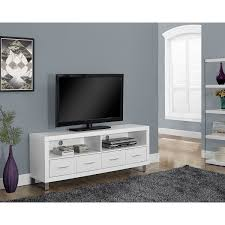 monarch tv stand for tvs up to   white  tv stands  best buy