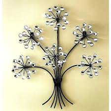 metal fl wall art flower wall art metal home decor wall art metal wall decorating flower