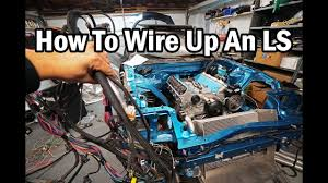 how to wire up an ls engine ls harness explained fd rx7 race car build series 31