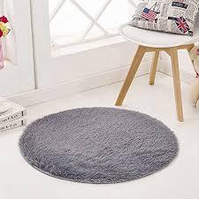 sanmu super soft indoor modern round rugs new arrival fashion color for girls living room bedroom
