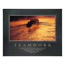 motivational artwork for office. Teamwork Rowers Motivational Poster Artwork For Office