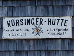 Bildergebnis für Bilder kürsingerhütte