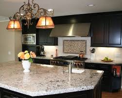 backsplash for bianco antico granite. Bianco Antico Granite With Dark Cabinets Backsplash For W