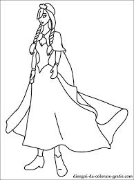 Disegni Principessa Anna Da Stampare Disegni Da Colorare Gratis