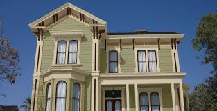 green exterior house paintAmericas Heritage Palette  Architectural Styles Throughout