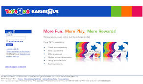 how to activate toys r us card account