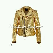 outer clothing handmade livemaster handmade jacket from natural python skin yellow