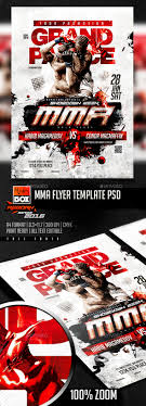 Ufc Flyer Template MMA Flyer Template PSD Photoshop PSD UFC Party UFC Available 10