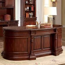 traditional office furniture. Interesting Office Furniture Of America Roosevelt Cm Dk6252do  For Traditional Office