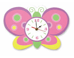 Gallery of Beautiful Wall Clocks For Kids Rooms Ideas