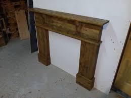 diy pallet mantle shelf
