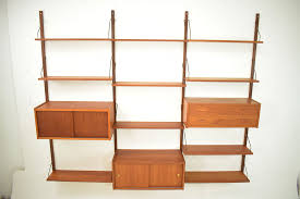 ps system in teak 10 shelves 3