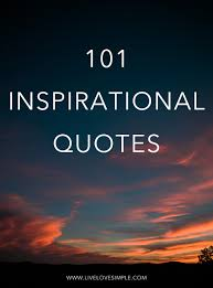 101 Inspirational Quotes Live Love Simple
