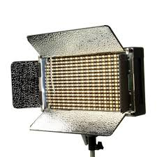 com ikan ib500 bi color led studio light black on lights photo