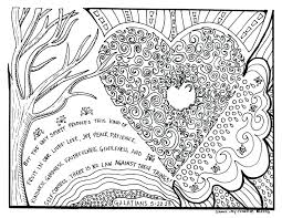 Fruit The Spirit Coloring Pages Joy Fruits Page Printable About