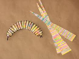 paper craft using old books images origami instructions easy for kids