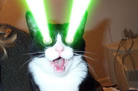 cats shooting lasers out of their eyes. Exellent Cats Out Of Its Eyes Or Head How Can We Possibly Beat This Picture Is From  Episode 1 Where Our Earth Forces Get Destroyed By This Monstrosityu0027s Lasers Inside Cats Shooting Lasers Out Of Their Eyes E